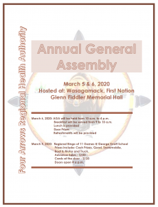 Annual General Assembly – March 5 & 6, 2020