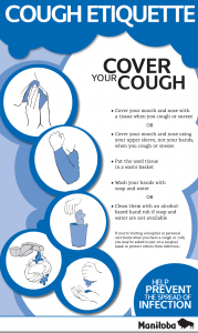 Cough Etiquette – Manitoba Government
