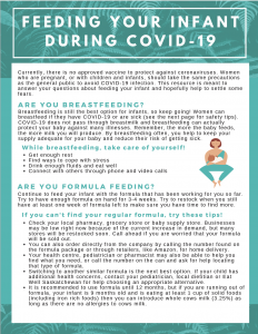 Feeding Your Infant During COVID-19