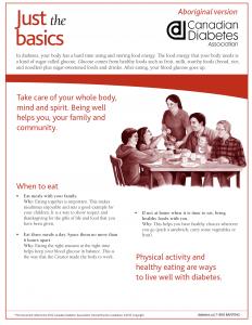 Just The Basics – Aboriginal Version