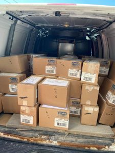 Dental supplies for kids and adults being sent to all 4 communities from COHI – Children's Oral Health Initiative
