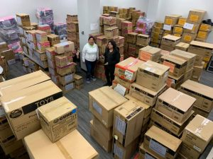 Massive Toy Donation from Save the Children – Next big shipment for the North organized by FARHA.