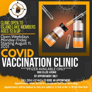 Read more about the article FARHA VACCINE CLINIC NOW OPEN MONDAY TO FRIDAY BY APPOINTMENT ONLY