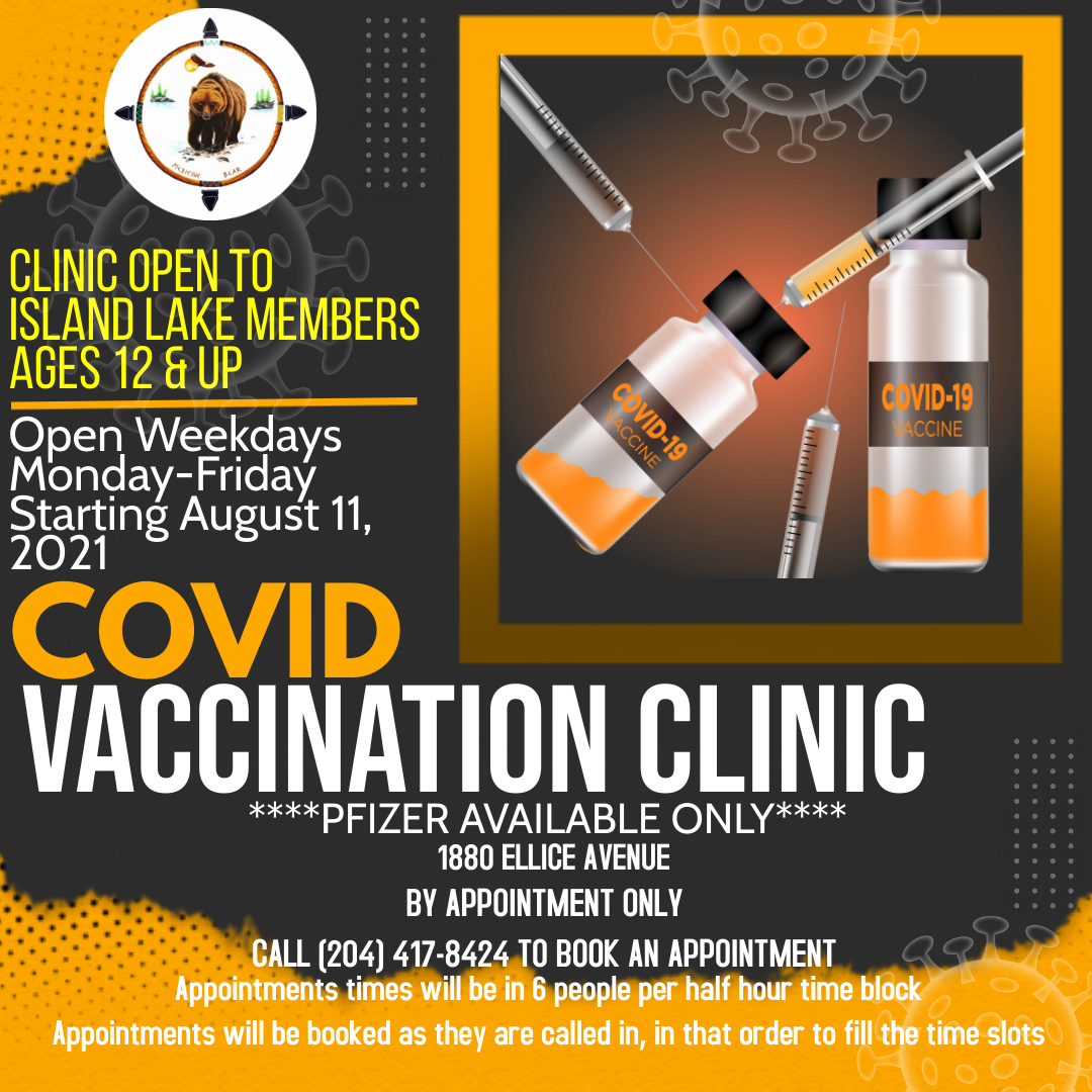 You are currently viewing FARHA VACCINE CLINIC NOW OPEN MONDAY TO FRIDAY BY APPOINTMENT ONLY